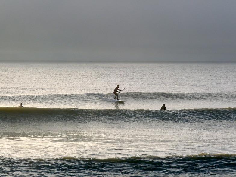 Small clean waves at Ruby Bay