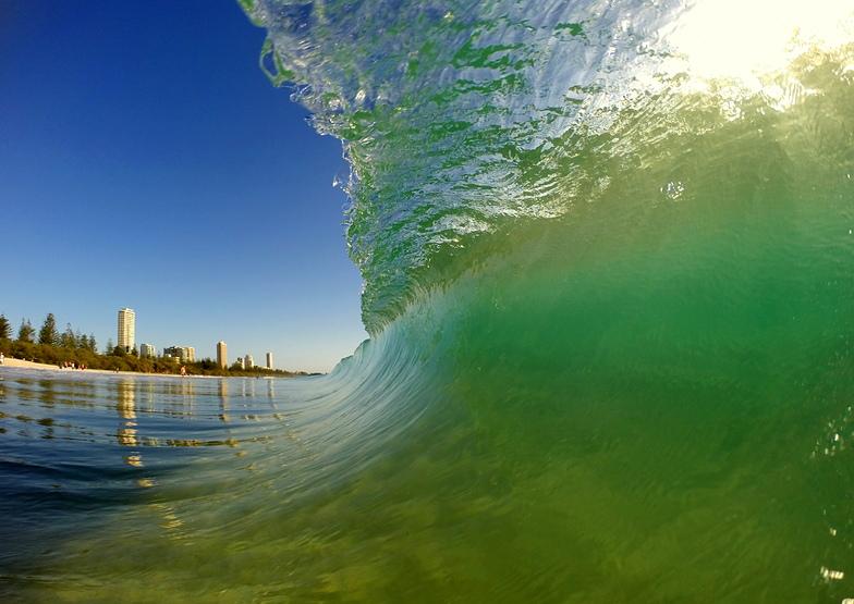 Burleigh Heads surf break