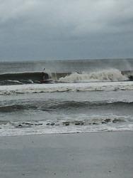 SUP after Arthur 2, Ocean Isle Beach/Pier photo