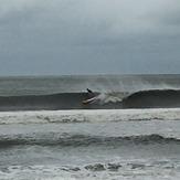 SUP after Arthur 1, Ocean Isle Beach/Pier
