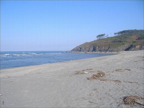 Playa de Navia surf break