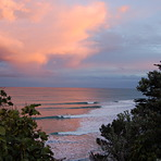 Point sunset, Makorori Point