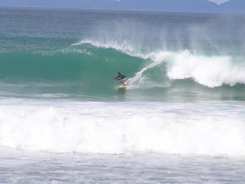 Waipu Cove surf break