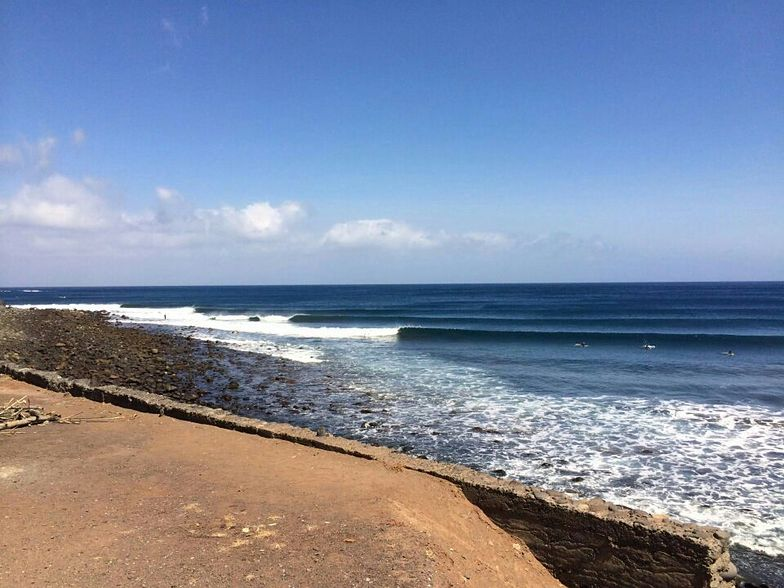 Igueste de San Andres surf break