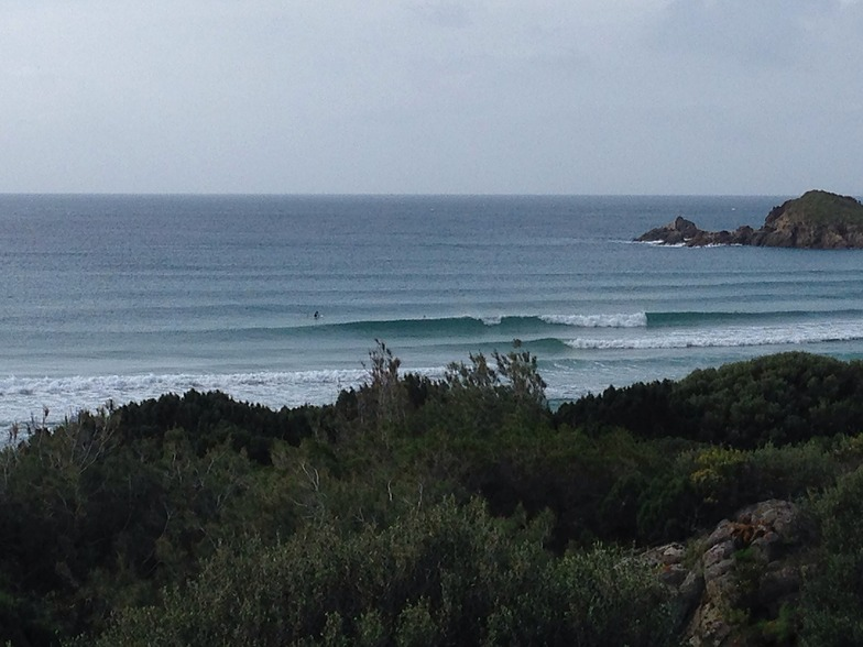 Chia surf break