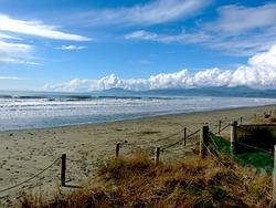 Incoming tide, Rabbit Island photo