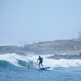 paddle surf, Broad Cove