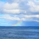 Rainbow surfing, Broad Cove