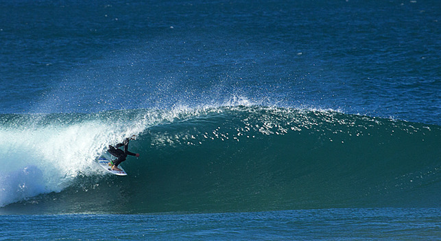 Nobby's Beach surf break