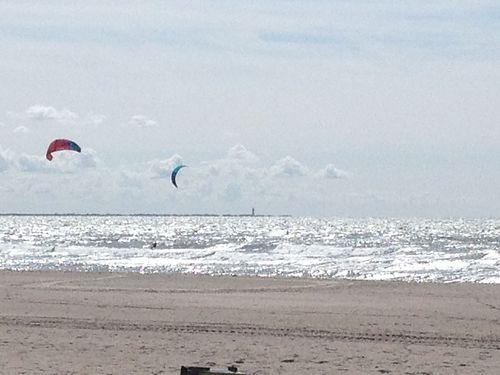 break at Maasvlakte, Netherlands