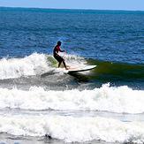 Longboard fun, Bay Front