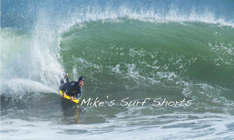 Bolinas Jetty surf break
