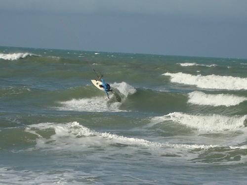 Kite wave, Genipabu