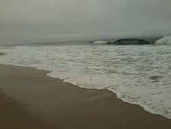 Solo Surfer, Montara photo