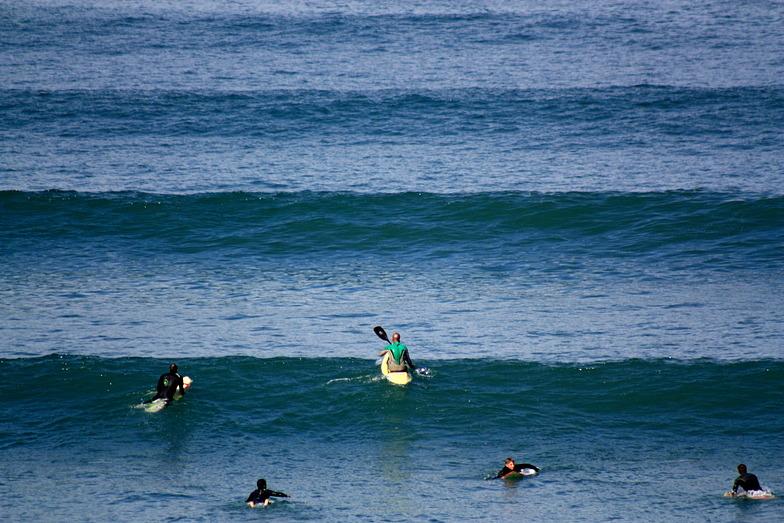 Woolacombe surf break