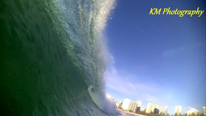 Narrow Neck surf break