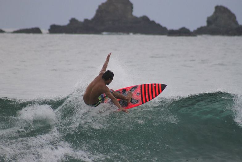 Escolleras surf break