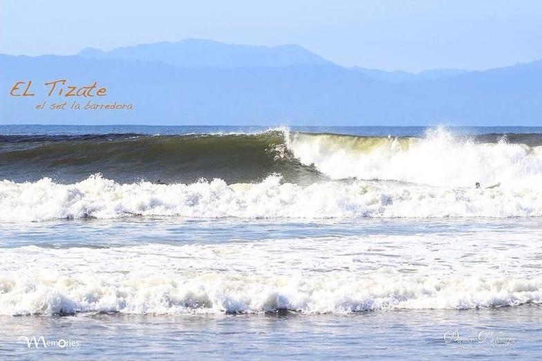 El Tizate surf break