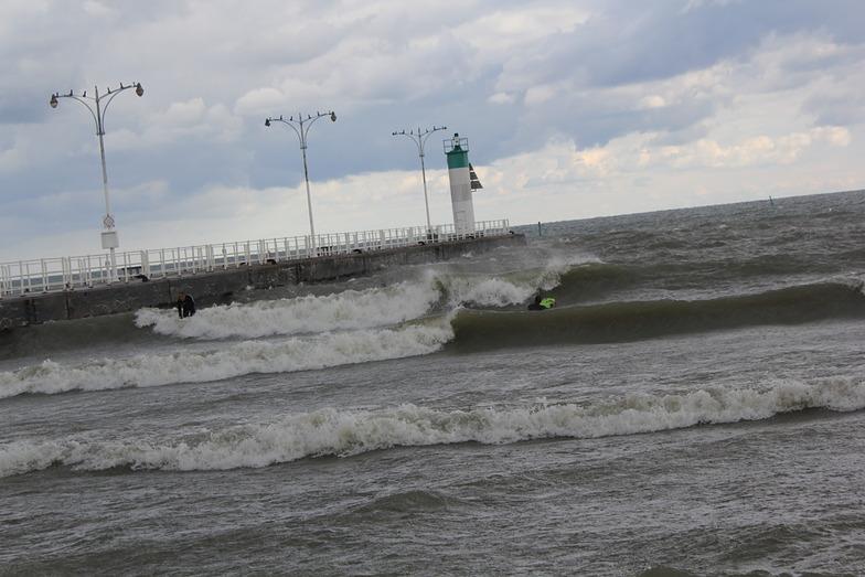 Toronto Breaks surf break