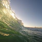 Sunshine through the lip, Coronado Beaches