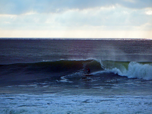 Mild October Surfing, Broad Cove