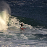 """Another """"paddle-in"""" surfer, Mullaghmore"""