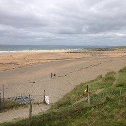 Fanore low tide photo