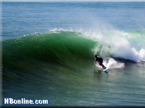 Huntington Beach Surf Photo Northside Of B Pier By Nick Andreos