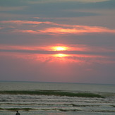 Sunset Surfing, Le Porge