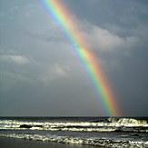 Rainbow Day At Topsail Island