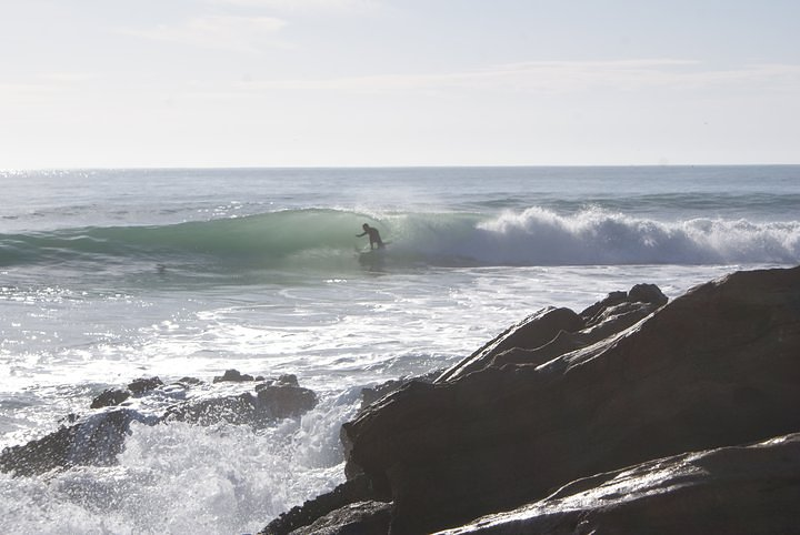 Panoramas surf break