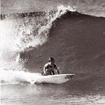 Mark Bell backhand bottom turn, Catherine Hill Bay
