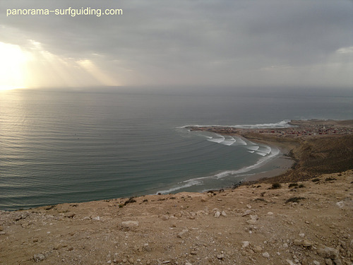 Imsouane - the bay, Pointe d'Imessouane