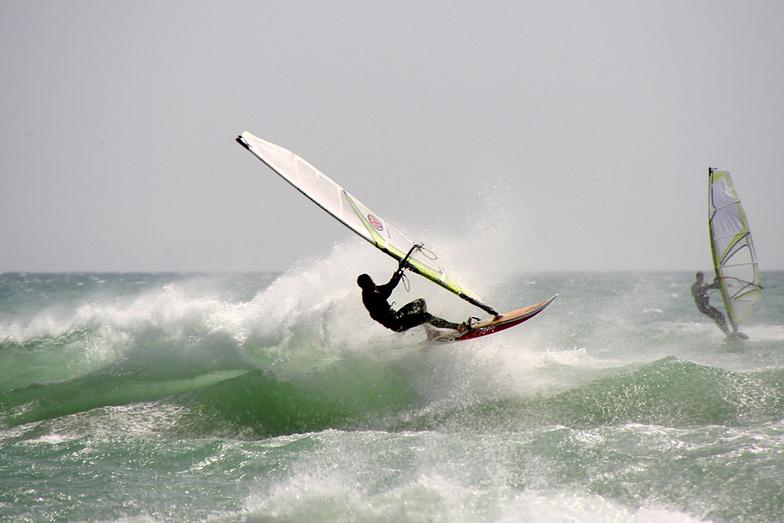 Wind surfing in Conil, Conil de la Frontera