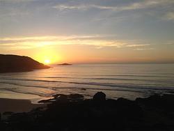 Sunrise over Gallows photo