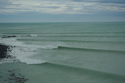 winter session, Banks Peninsula - Magnet Bay photo