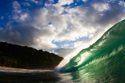 Green Slab, Waimea Bay/Pinballs