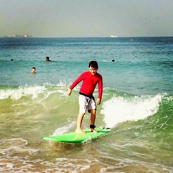 Jumeirah Beach surf break