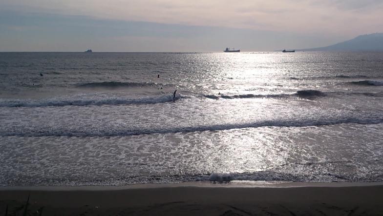 El Chanquete surf break