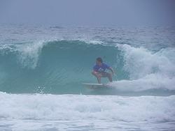 Backhand, Praia Brava photo