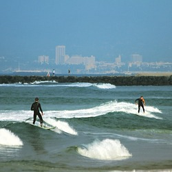Surfing, El Porto Beach photo