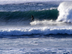 Skaill surfer, Bay of Skaill photo