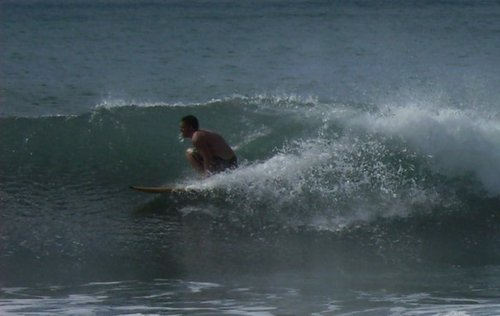 Small Wave Day, Belham Valley Rivermouth