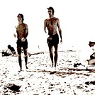 1978 La Jolla Shores The late Eddy Fitzgerld and Steven Meyers Miss my Best Friend Passed March 2013 Melanoma Cancer.cer