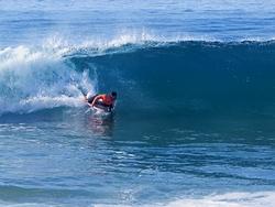 shore break fun, Westward Beach/Point Dume photo