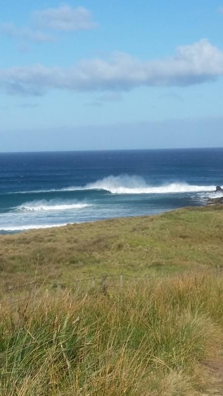 Mount Cameron surf break