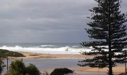 Big surf day, Wamberal Beach photo