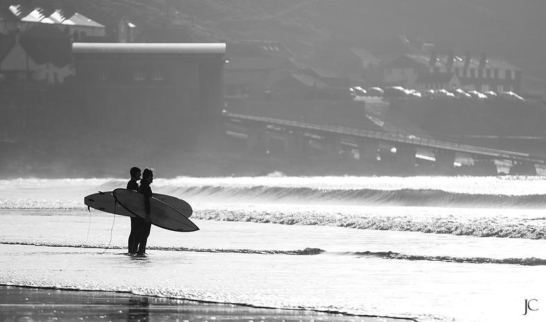 Sennen Cove surf break