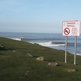 Left, Ogmore-by-Sea