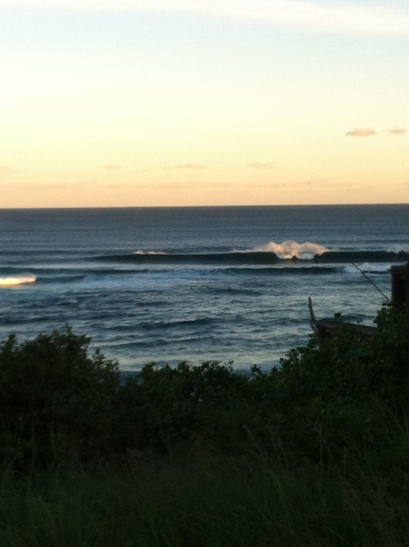 Forresters surf break